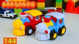 Мультики про машинки и паровозики - Город машинок 144 серия. Мультфильмы для детей mirglory
