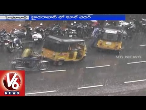 Sudden rains in Summer - Hyderabad (01-03-2015)