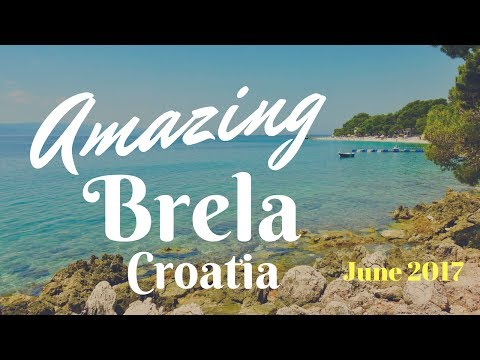Brela, Split, Croatia- Punta Rata Beach - A place worth visiting
