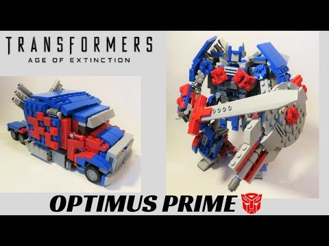 Lego Transformers Age of Extinction- Optimus Prime (Western Star)