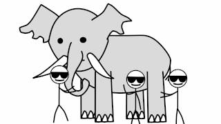 The blind men and the elephant.
