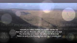 Farewell To the Rhondda - The New Barleycorn
