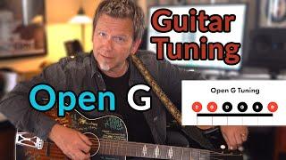 OPEN G TUNING - (Joni Mitchell/Rolling Stones/Nilsson) - Alternate Guitar Tunings - D-G-D-G-B-D
