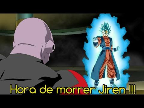 GOKU E TOPPO SURPREENDEM ZENO   JIREN O MAIS FORTE DO UNIVERSO 11 !!!