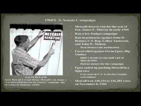 A Life Undaunted: Senator Lee Metcalf
