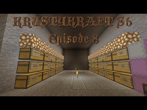 Let's Play KRUSTYKRAFT S6 Minecraft PS4 Organization is Key! (8) #Roadto1000