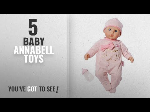 Top 10 Baby Annabell Toys [2018]: My First Baby Annabell Doll