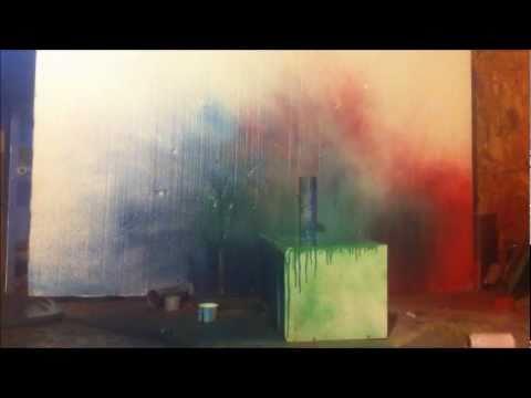 Spray Paint Cans Art
