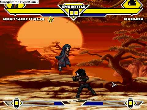 MUGEN Epic Battle: Itachi VS Madara (Both Best Characters)