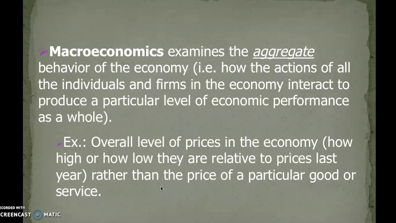what macroeconomics is about and what macroeconomists do economics essay Read this essay on macroeconomics essay come browse our large digital warehouse of free sample essays macroeconomics is an economy-wide phenomenon like the changes in unemployment, inflation — albert einstein 1 o n e 1-1 what macroeconomists study why have some countries.