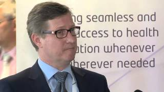 Med-e-Tel 2015, Luxembourg – Interview with Prof. Dr. med. Mildenberger and Bernie Van Welt, IHE