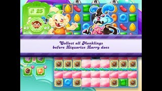 Candy Crush Jelly Saga Level 1212 (3 stars, No boosters)