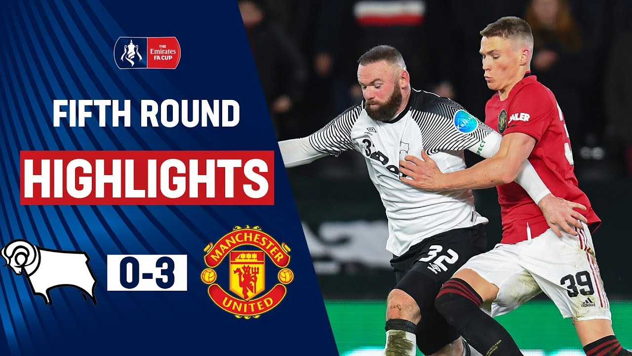Ighalo Inspires in Rooney Reunion | Derby County 0-3 Manchester United | Emirates FA Cup 19/20