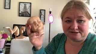 УРОКИ РЕБОРНИНГА. РЕБОРН КУКЛЫ. How to make your reborn doll. Красные капилляры .Как сделать РЕБОРН?