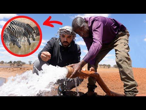 The Kenyan Water Man! (Guardian of Wild Animals)