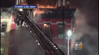Firefighters Hurt In East Harlem