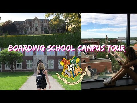 BOARDING SCHOOL CAMPUS TOUR