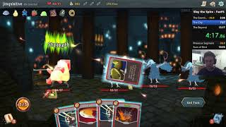 Slay the Spire speedrun fast mode any% in 9:22! [WR]