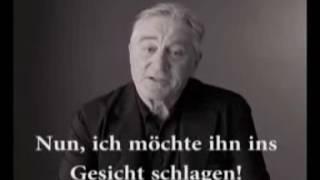 De Niro über Donald Trump - Deutsche Untertitel