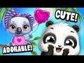 CUTENESS OVERLOAD! Tiny Baby Koala, Tiger & Panda | TutoTOONS Cartoons & Pet Care Games for Kids