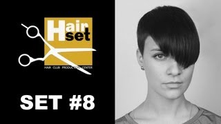 Hair Set #8 (креативное окрашивание, Babyliss, женская стрижка - GB, RU)(Восьмой выпуск видео-журнала HAIR SET. 1. Креативное окрашивание волос техникой