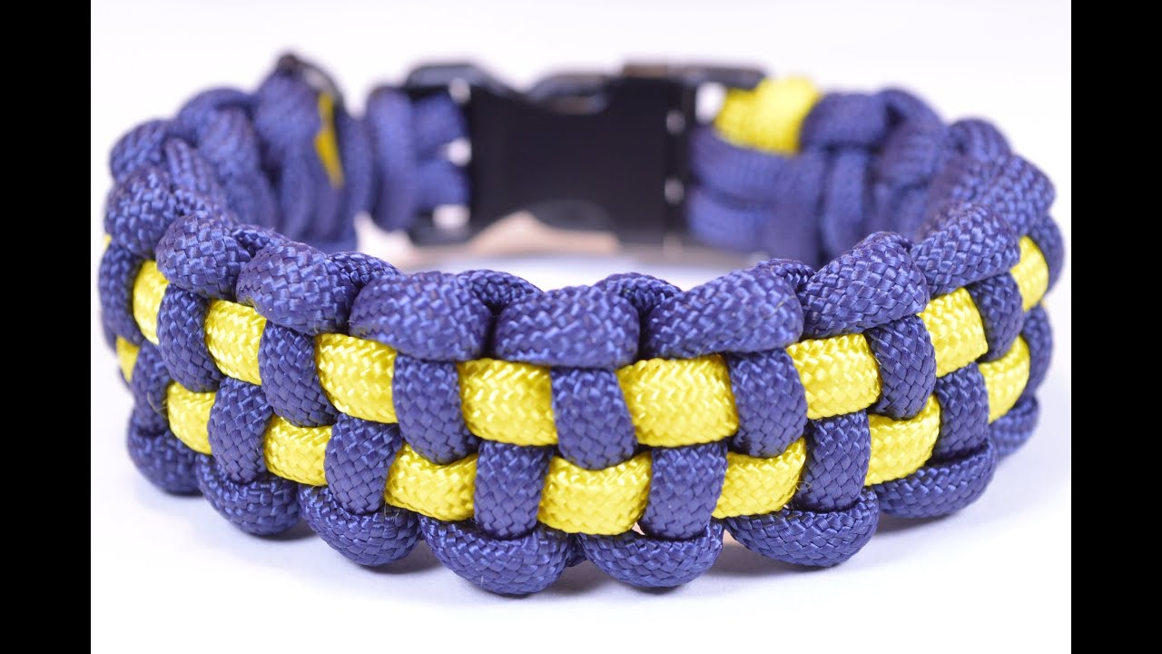 How To Make A Stitched Solomon Paracord Survival Bracelet