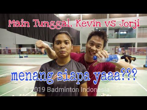 Kevin Sanjaya Sukamuljo Vs Gregoria Mariska Live IG Badminton.ina