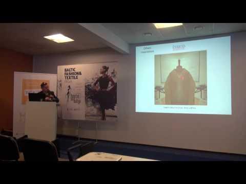 Paul Marchand presentation at Fashion Creativity Seminar in Riga 04.04.2014