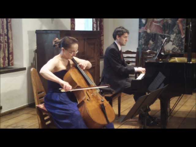 Duo Celliano - Salut d'Amour (Love's Greeting)