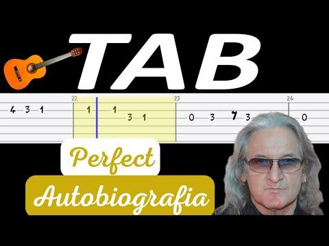 🎸 Autobiografia (Perfect) - melodia TAB (gitara) 🎸