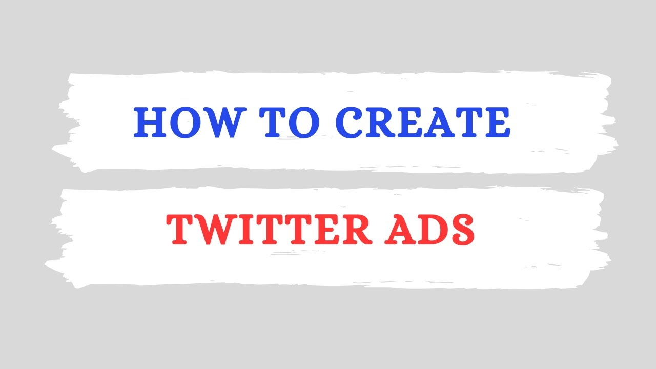 How To Create Twitter Ads [UPDATED] | Beginners Guide To Advertising on Twitter 2020