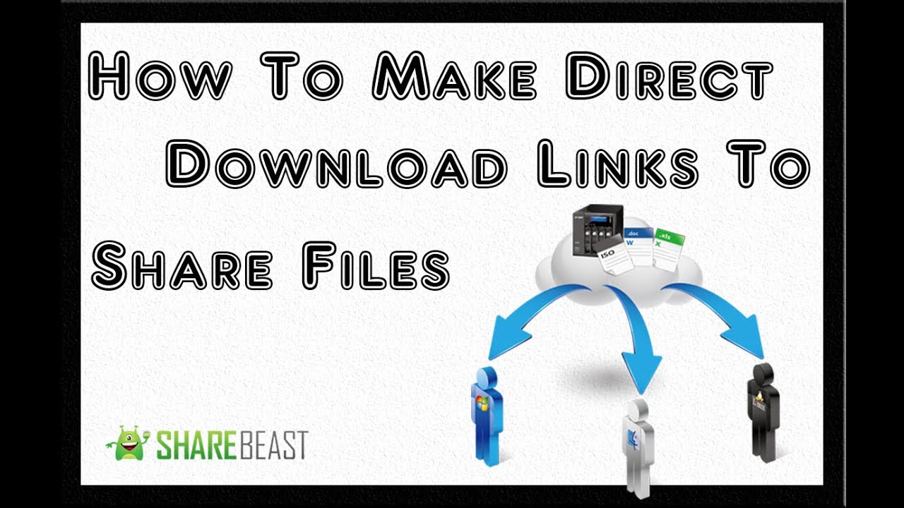 How to Make & Create a Direct Download Link Making Your File Downloadable  FREE  Uploading Files