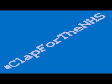 #ClapForTheNHS