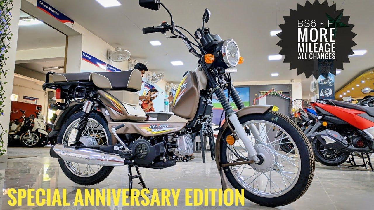 Tvs Xl100 Heavy Duty Bs6 2020 Special Edition 5 6 Updates