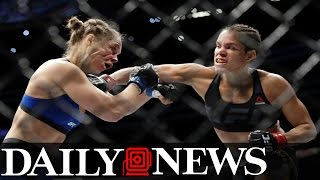 Ronda Rousey Knocked Out By Amanda Nunes In 48 Seconds At UFC 207