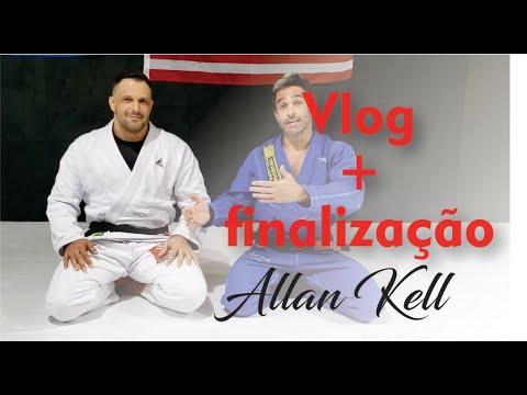 Jiu Jitsu - Vlog + Finalização Allan Kell - Academia Fit Fight - BJJCLUB
