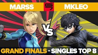 Marss vs MkLeo - GRAND FINALS: Top 8 Ultimate Singles - Genesis 7 | ZSS vs Joker