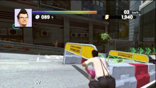 PlayStation Move: Kung Fu Rider (PS3) Gameplay