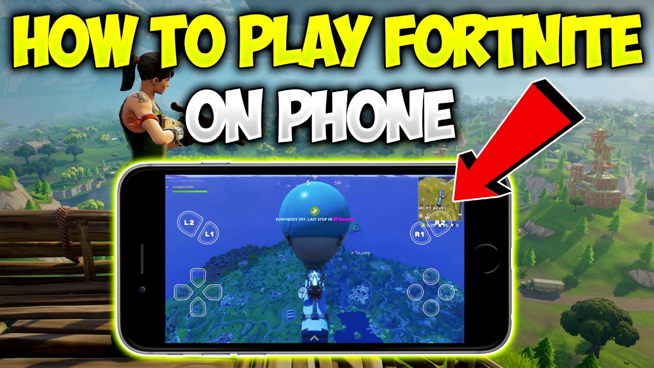 How To Play Fortnite On Iphone Or Ipad For Free Youtube