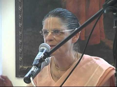 2011 Panihati festival morning class by H.G. Malati devi dasi. (Part 1 of 3)