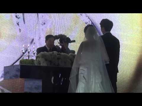 주례없는결혼식 신랑아버지 덕담-세나 결혼�