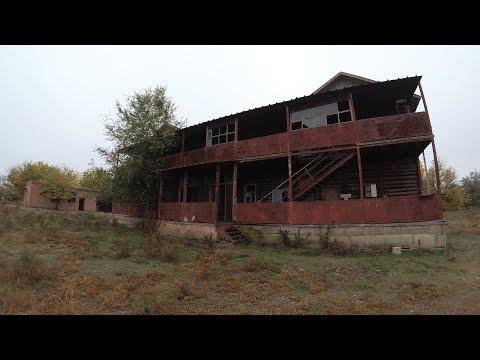 Заброшенный дом-призрак в глуши. Бывшая кроликоферма  Астраханская область