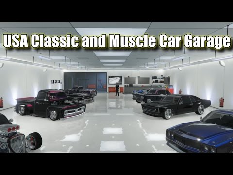 Gta Online Usa Classic And Muscle Car Garage Updated With
