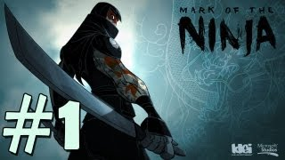Mark of The Ninja: Playthrough / Gameplay Parte 1 [PT- BR]