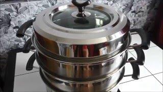 видео БЕЗ МАНТОВАРКИ как варить позы и манты рецепт
