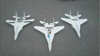 RC MiG-29 depron plane