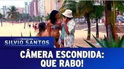Câmeras Escondidas (24/04/16) - Que Rabo!
