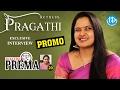 Actress Pragathi Exclusive Interview - Promo    Dialogue With Prema   Celebration Of Life #20
