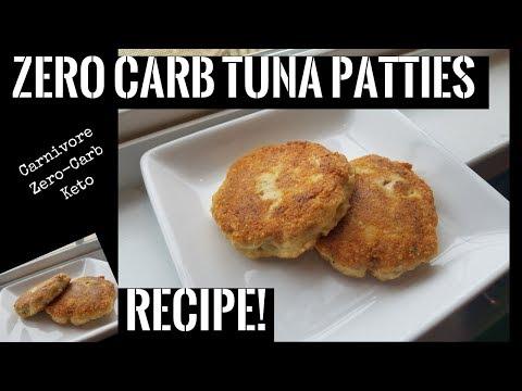 Zero Carb Tuna Patties Recipe   Carnivore, Zero-Carb, Keto