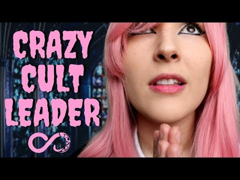 ASMR - THE CHURCH OF GLOB ~ Crazy Devotee Converts You | Whispers, Breathing, Hand Movements ~